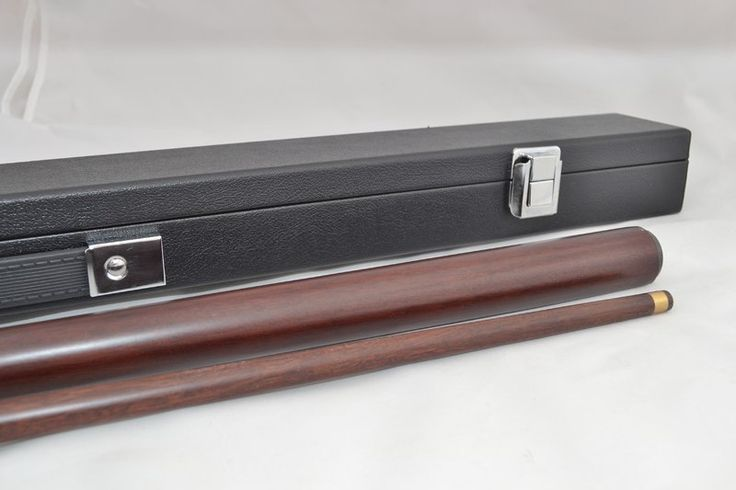 #Jarrah #Pool Cue and carry case with your name laser engraved on the pool cue $132.00  www.ozwood.com.au