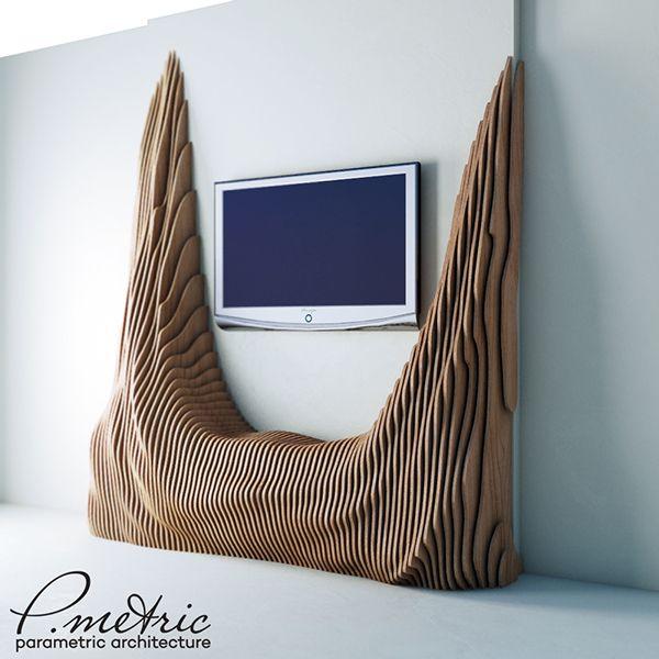 tv table by Denis Homyakov on Behance