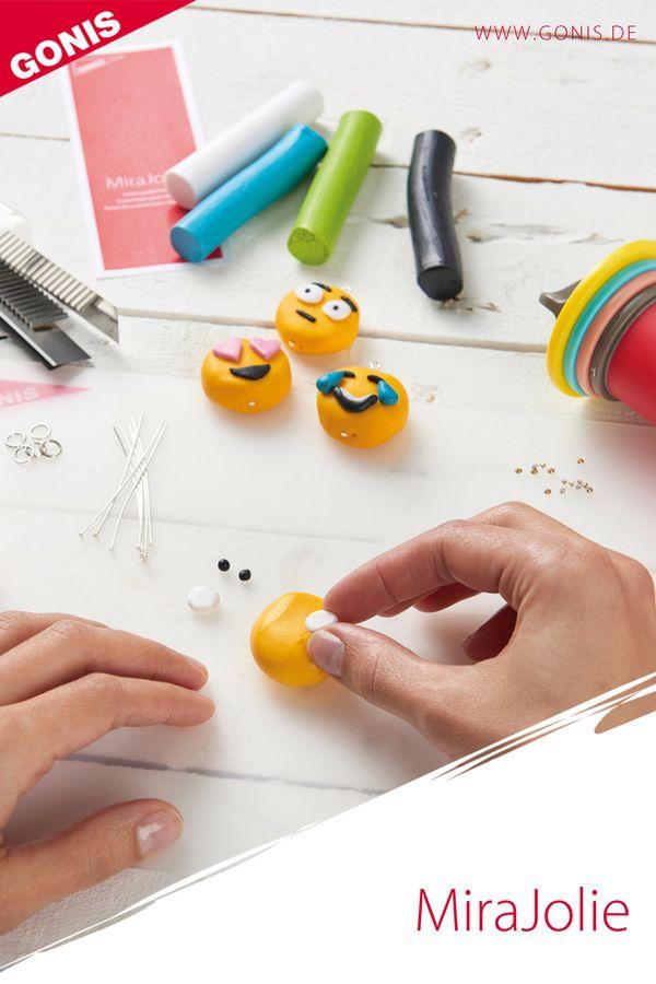 Die Modelliermasse MiraJolie  aus Polymer Clay für persönlichen Accessoires und Dekorationsideen.