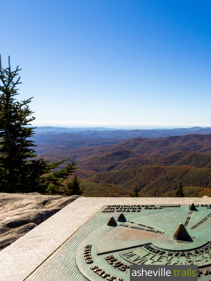 Hike the Devils Courthouse Trail on the Blue Ridge Parkway to exceptional summit views near Asheville, NC
