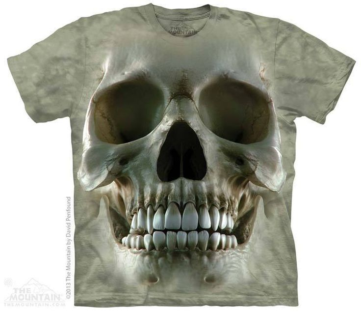 PRIKID - Big Face Skull T-Shirt, €37.00 (http://prikid.eu/big-face-skull-t-shirt/)