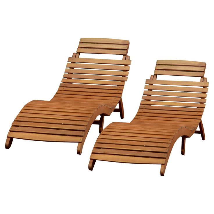 20 best home garden images on pinterest backyard ideas for Acacia wood chaise lounge