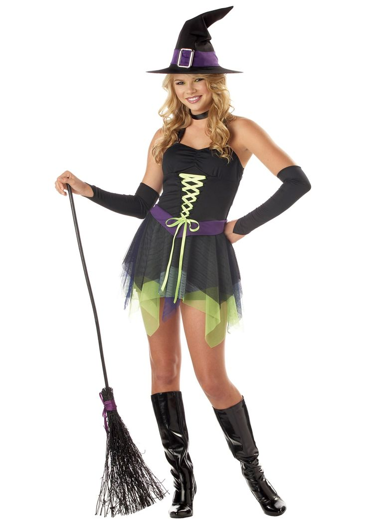 check out the fantastic sassy witch teen costume teen costume perfect for unique teen girls halloween fancy dress outfit from our halloween range - Girls Teen Halloween Costumes