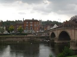 Bewdley bridge Worcestershire