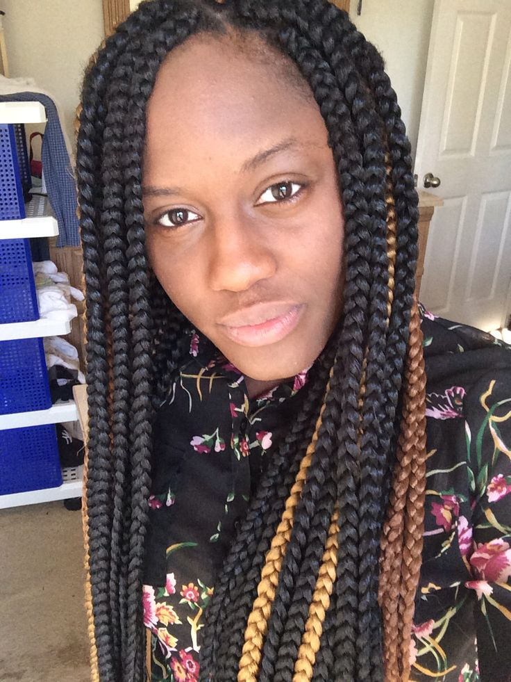 Tremendous 1000 Images About Big Box Braids On Pinterest Ghana Braids Big Short Hairstyles For Black Women Fulllsitofus