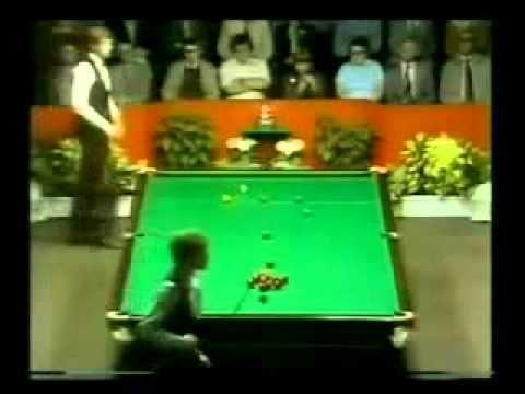 Snooker International Open 1981 semifinal Steve Davis vs Alex Higgins - YouTube