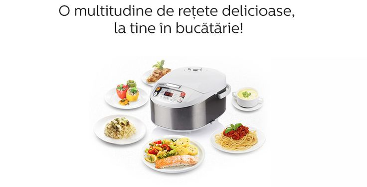 Intra si tu in Club Philips Multicooker!