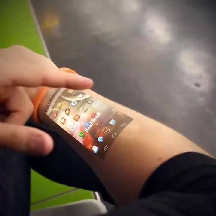 Cicret SmartPhone Hologram