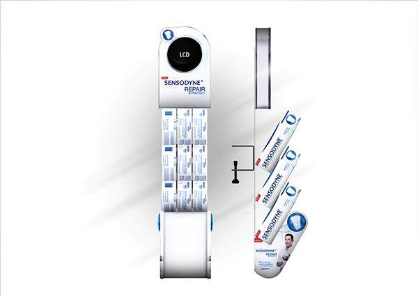 PDV Lançamento Sensodyne Repair&Protect on Behance