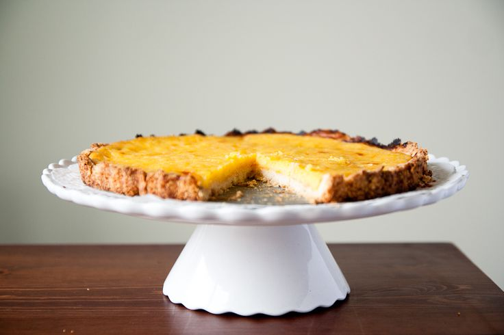Martha Stewart Rustic Meyer Lemon Tart. The best lemon dessert we've ...