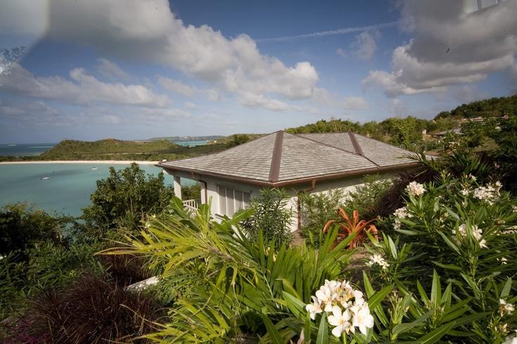 Capri luxury villa in Antigua, Caribbean