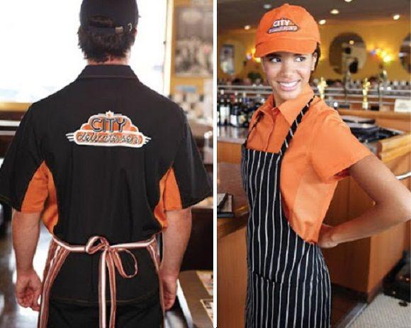 52 best images about restaurant uniforms uniform ideas for Restaurant uniform shirts wholesale