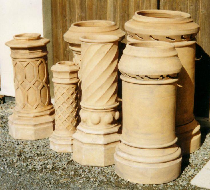 French Chimney Caps : Clay chimney pots pinterest