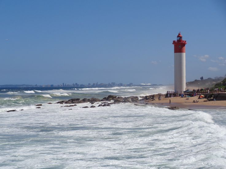 Umhlanga Lighthouse & Durban Skyline