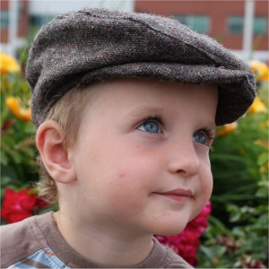 Wouldn't this be cute on ring bearer?  Custom made, all the boys could have a matching style hat, custom made, custom liners ( in tartan or other fabric)