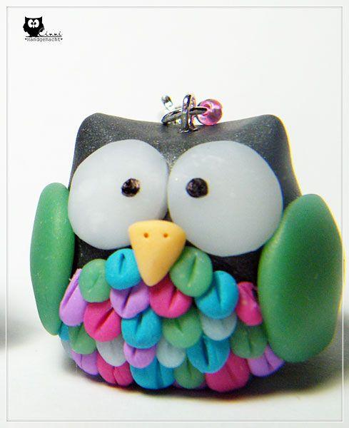 die besten 25 fimo eule ideen auf pinterest clay owl fimo modelliermasse und fimo. Black Bedroom Furniture Sets. Home Design Ideas