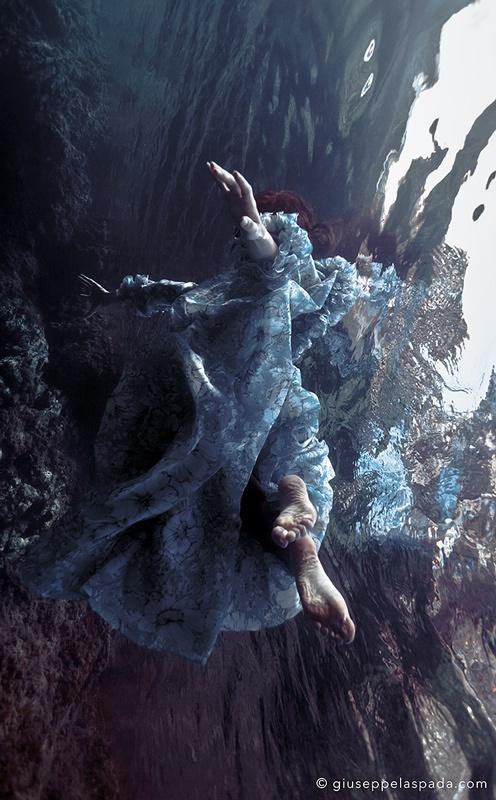 #underwater #sea #model #sicily #giuseppelaspada