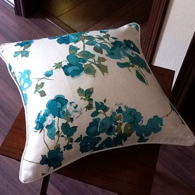 Beautiful cushion cover from gorgeous screen printed fabric.