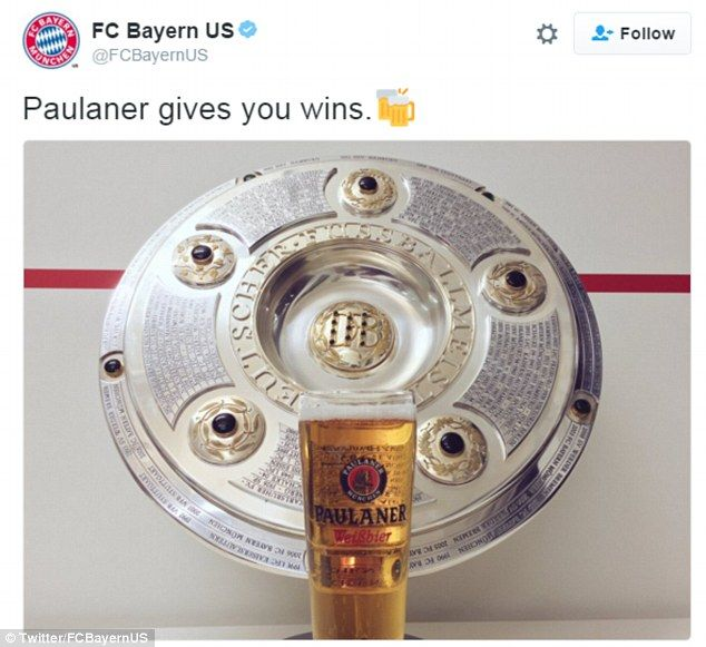 Bayern Munich's American Twitter account took a cheeky pop at their rivals RB Leipzig, who...