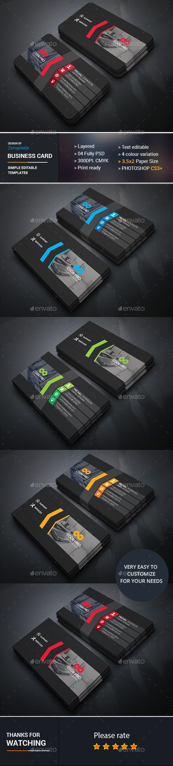 1215 best tarjetas de presentacin images on pinterest business computer repair business card photoshop psd professional designer available here https reheart Choice Image