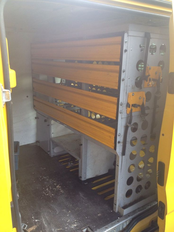 Ex AA van Racking For Renault Trafic | eBay
