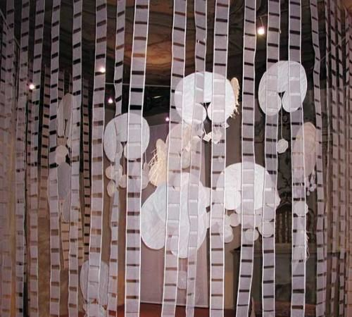 Immagine: Angiola Churchill, Pandora's box no. 2   Catalogo: Cartografica Artigiana (Ferrara), costo di copertina euro 25,00 (in mostra euro 15,00).   Palazzo Bonacossi Via Cisterna del Follo, 5 Ferrara  Orari: Dalle 9.00 alle 13.00 dalle 15.00 alle 18.00  Ingresso libero   UFFICIO STAMPA P&G - C.so Garibaldi 108 -20121- MI Tel 02.29000444 Andata e Ritorno Palazzo Bonacossi Ferrara
