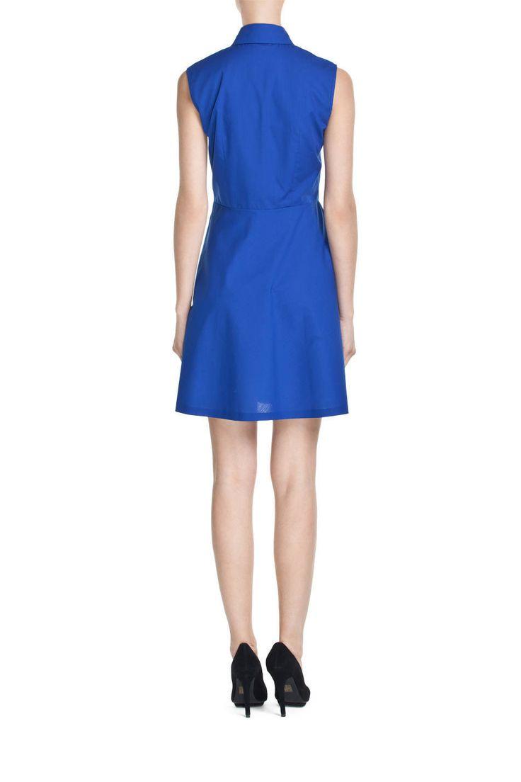 Sukienka bez rękawów z kołnierzykiem; Projektant: PLICH ; Wartość: 1390 zł; Poczucie piękna: bezcenne. Powyższy materiał nie stanowi oferty handlowej