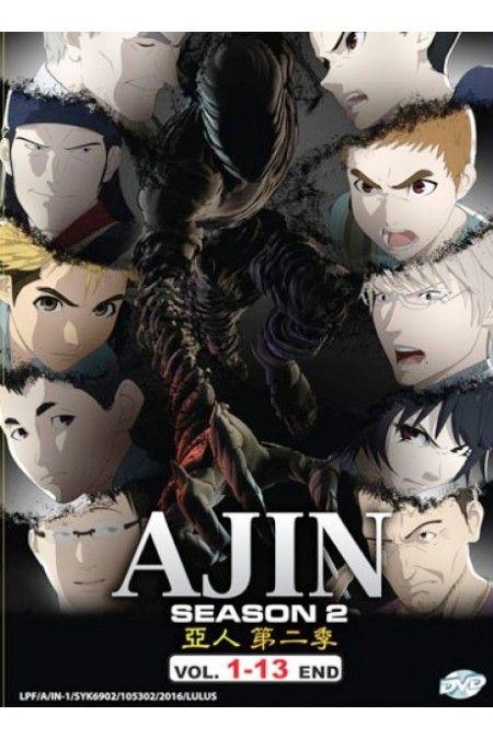 Ajin: Demi-Human Season 2 Vol.1-13End Anime DVD