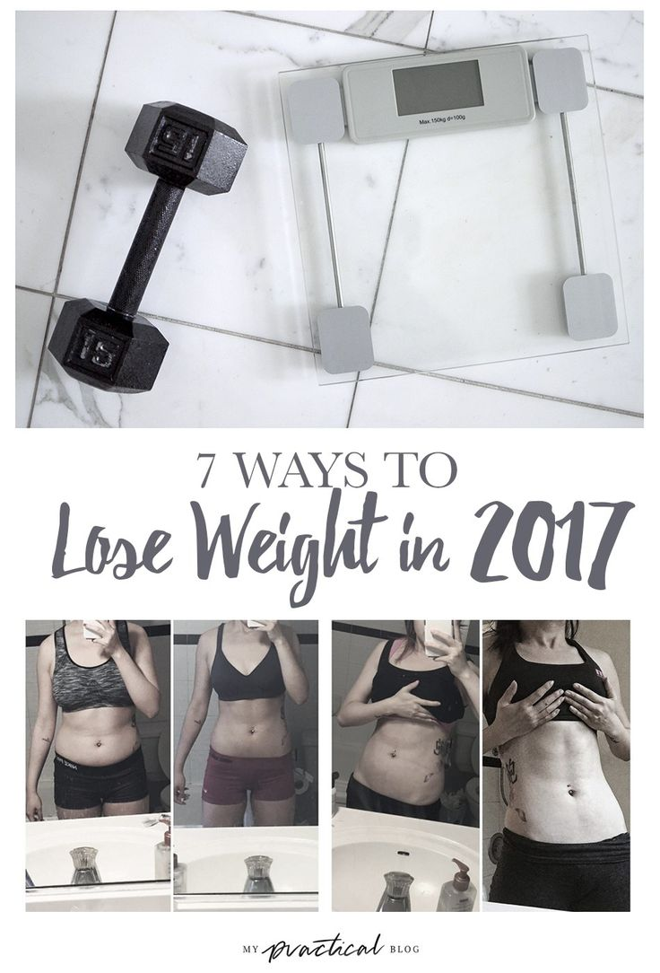7 Ways to Lose Weight in 2017