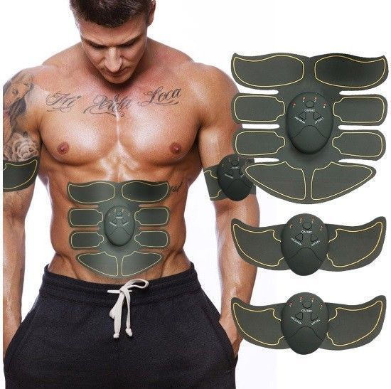 Details about Smart Abs Stimulator Training Fitness Gear Muscle Abdominal toning belt strength