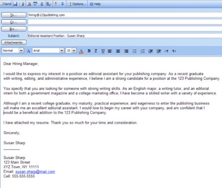 Image result for cover letter in email for job application - cover letter email subject