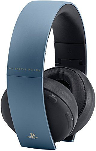 PlayStation Gold Wireless Headset - Uncharted 4 Limited Edition (Bulk Packaging)