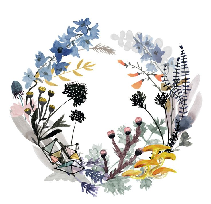wreaths - katie vernon art + illustration