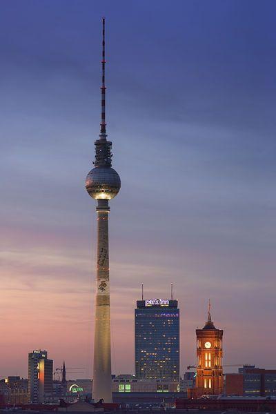 TV Tower - Berlin. (Aka the worlds scariest lift.)