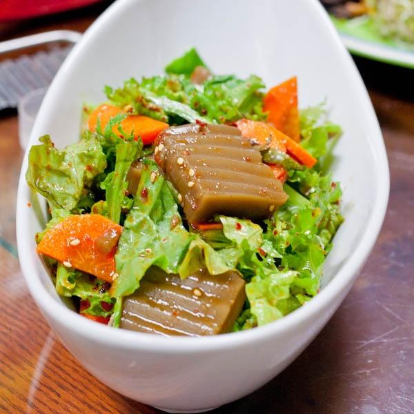 147 best korean food images on pinterest korean food recipes korean acorn jelly salad forumfinder Images