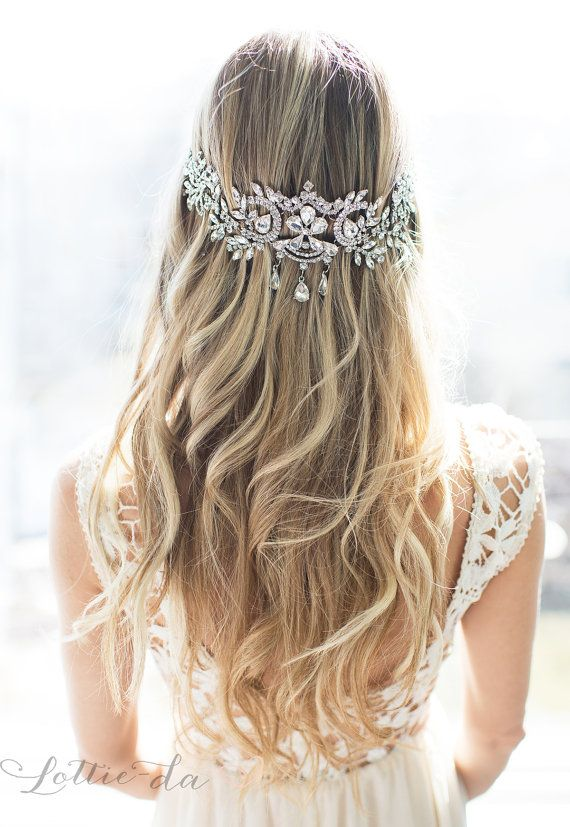 Vintage Inspired Bridal Headpiece Wedding Hair Jewelry