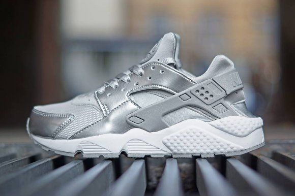 #Nike Wmns Air Huarache - Silver Pack #sneakers