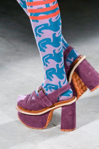 Vivienne Westwood at Paris Fashion Week Spring 2017 – Pattern Love