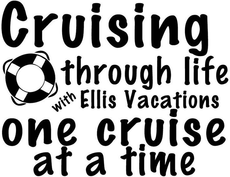 Cruising Through Life Custom Window Decal