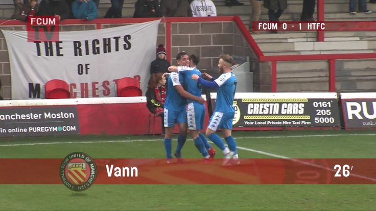 FCUM vs Harrogate Town FC - Goals - 02/12/17