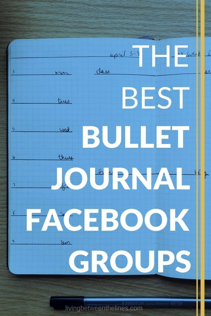 Whether you're looking for general communities, or ones focused on your needs and style, there's a bullet journal Facebook group out there for you.