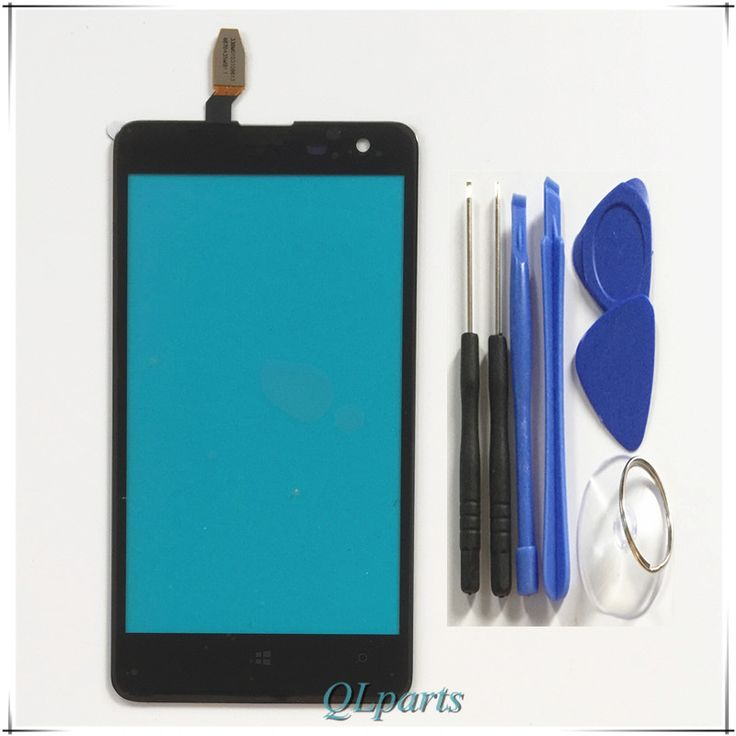 Accessoires Pièces mobile téléphone tactile panneau Pour Nokia Lumia 625 N625 capteur tactile écran digitizer écran tactile avant verre + outils