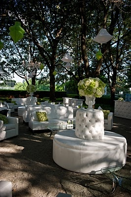 The gorgeous lounge we created for the second annual Angels for EOS Par-Tee for the Cure gala event in Dallas #DallasWeddingAndEventPlanner