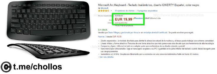 Teclado Microsoft ARC Bluetooth por 2499 - http://ift.tt/2nm5zZN