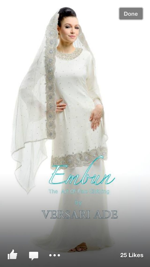 Still looking for a nikah dress or kurung moden that is simple.