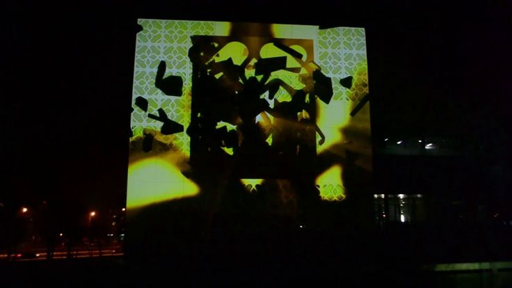 Mapping CNK PB  Mapping on building of Centre of Modern Education on Bialystok University of Technology in Poland during celebration of 63. University Holiday 6.12.2012. Mapping was created by FILMOVI.  #mapping #abstract #themed #projection #exterior #białystok