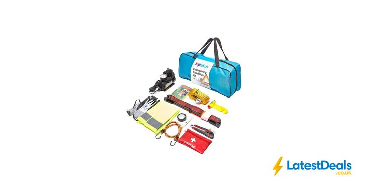 Top Tech 12pc Emergency Roadside Kit £12.99 with Code Free Delivery at Euro Car Parts
