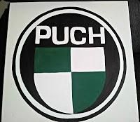 Puch logo to my boyfriend last birthday