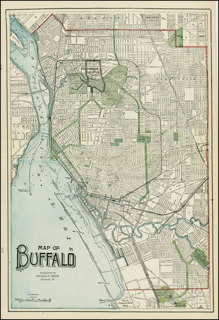The Best Buffalo Ny Map Ideas On Pinterest - Map of us showing buffalo ny