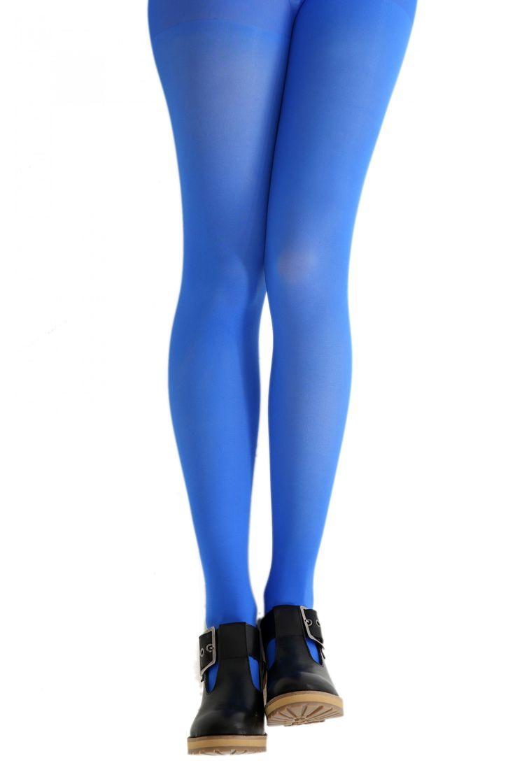 Red or Dead Oh So Blue Tights - Pamela Mann  #tights, #hosiery, #PamelaMann, #RedOrDead
